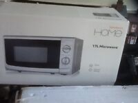 Brand new microwave, in box