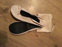 Ballet type shoe