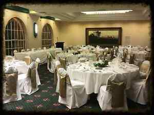 Chair covers. White cotton Hamilton South Newcastle Area Preview