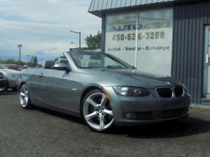 BMW 335i 2008****CABRIOLET,COUPÉ,TURBO.CUIR,MAGS****