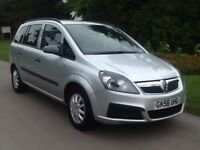 Vauxhall zafira 1.8 .7 seater 1. years mot drives all good