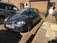 Seat Ibiza DAB edition 1.4l, 56/(07) plate, Newly done M.O.T, Runs perfect