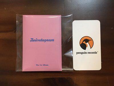 TWICE 1st Album Twicetagram - Pre Order Benefit Official Photocard 9pcs Set