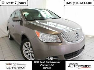 2012 BUICK LACROSSE 2,4L, E-ASSIST, LUXURY, DEM. DISTANCE, MAGS,
