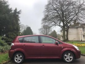 TOYOTA COROLLA VERSO AUTOMATIC, 06 REG, 75K MILES, FSH, HPI CLEAR, 7 SEATS, DELIVERY AVAILABLE, MOT