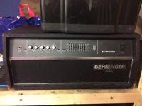 Behringer Ultrabass BVT4500H 450-Watt Bass Head
