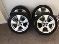 Bmw alloys 17' with tyres