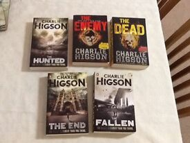 Charlie Higson 5 Paper Back Books Teenager Horror & Zombie Stories