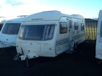 2003 AVONDALE landranger 6400 twin axel 5 berth with double fitted mover & blow up awning