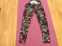 Brand new. With all tags. TopShop summer leggings