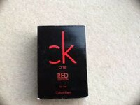 CK one RED EDUCATION Men's Aftershave new unwanted gift