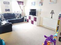 Large 2 bedroom ground floor flat to swap