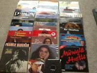 35+ Assorted LP Records And 2 Single Records