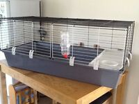 LARGE AS NEW RABBIT/GUINEA PIGS INDOOR CAGE