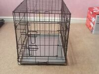 Two Puppy or small dog crates