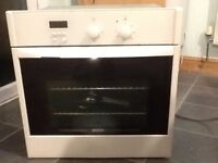 Bosch Electric oven and Gas Hob