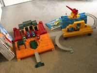 Thomas and Friends mega bloks - compatible with duplo - Thomas the tank