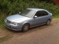 Rover 45, full MOT