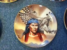 AMERICAN INDIAN PLATES FRANKLIN MINT Cranbourne Casey Area Preview