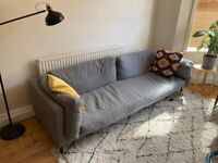 Grey Swoon 3 Seater Munich Sofa for sale