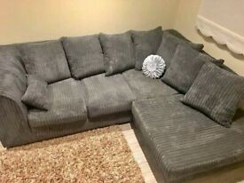 ❤UK PACKED❤NEW BYRON JUMBO CORD CORNER & 3+2 SOFA IN STOCK❤CASH ON DELIVERY🚚