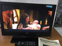 19'' tv led built freeview and dvd,1 x usb