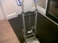 trolley, sack barrow for sale 100£ is new ,aluminium NEW! very good quality trolley