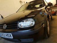 2003 Volkswagen Golf 1.4 *1 Years MOT!* low mileage FSH!!!
