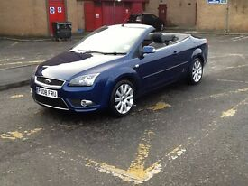 FOCUS CONVERTIBLE 2008 FORD FOCUS CC-3 CONVERTIBLE 2DR 37000 MILES,FULL SERVICE HISTORY,TWO OWNERS.