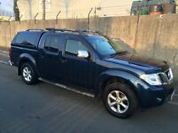 Nissan Navara Tekna Double Cab DCI188 Auto Dark Blue with Pegasus Central Locking Cab back