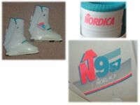 Ladies Nordica N957 rear entry easy fit ski boot
