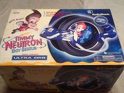 Jimmy Neutron Remote Control Ultra Orb (Brand New In Box/ Sealed 2001)