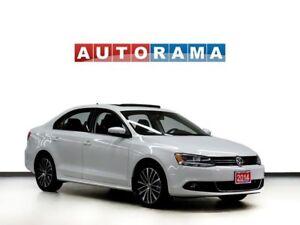 2014 Volkswagen Jetta TDI HIGHLINE BACKUP CAM LEATHER SUNROOF AL