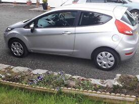2011 1.2 Ford Fiesta (petrol)