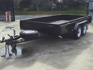 10x5 Heavy duty Tandem Rolled Body Trailer with Braked Morphett Vale Area Preview