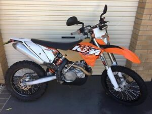 2012 KTM EXC 450 Brisbane City Brisbane North West Preview