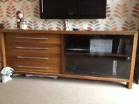 MARKS&SPENCERS FURNITURE - SIDEBOARD, COFFEE TABLE, AND NEST OF TABLES