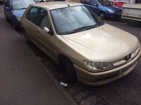 Peugeot 306 HDI Turbo Diesel 5dr Hatchback Gold 134k 1 months MOT Great Runner