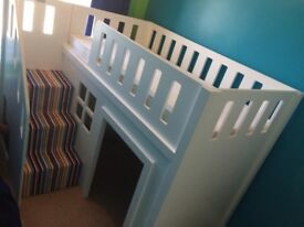 Childrens Bed Kids Playhouse