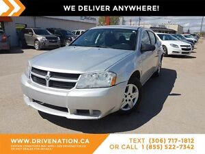 2010 Dodge Avenger SXT SPACIOUS SEDAN! AUX! GREAT FOR ROADTRIPS!