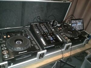 DJ set up Ascot Belmont Area Preview