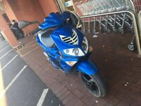 Peugeot speed fight 50cc spares or repairs full V5 2 keys