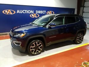 2017 Jeep Compass Limited LOW KMS!!!! LOADED, 4X4/OFFROAD PAC...