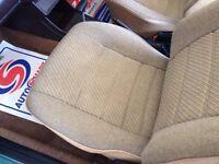Vw mk1 golf front seats vw golf mk2 seats