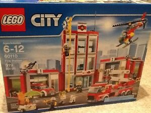 Lego City 60110 Fire station Brand new in the box,