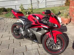 2007 Honda CBR 600RR Motorbike Dingley Village Kingston Area Preview