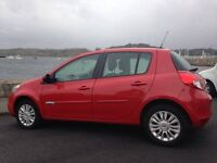 2012 Renault Clio, Great Condition, Low Mileage and M.O.T until July 2017