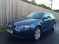 2004 04 Audi A3 2.0 TDI 3dr*Full Service History+Cambelt 125K*CARDS ACCEPTED not golf gt tdi 1.9 gtd
