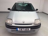 Renault Clio 1.2i - Part Exchange - Runs and Drives Well - Project