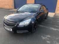 Vauxhall Insignia Exclusive Saloon + Diesel + Automatic (2009)
